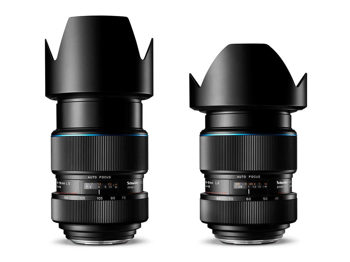 Schneider Kreuznach 'Blue Ring' Lenses