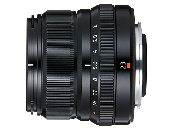 Fujifilm all-weather XF 23mm lens