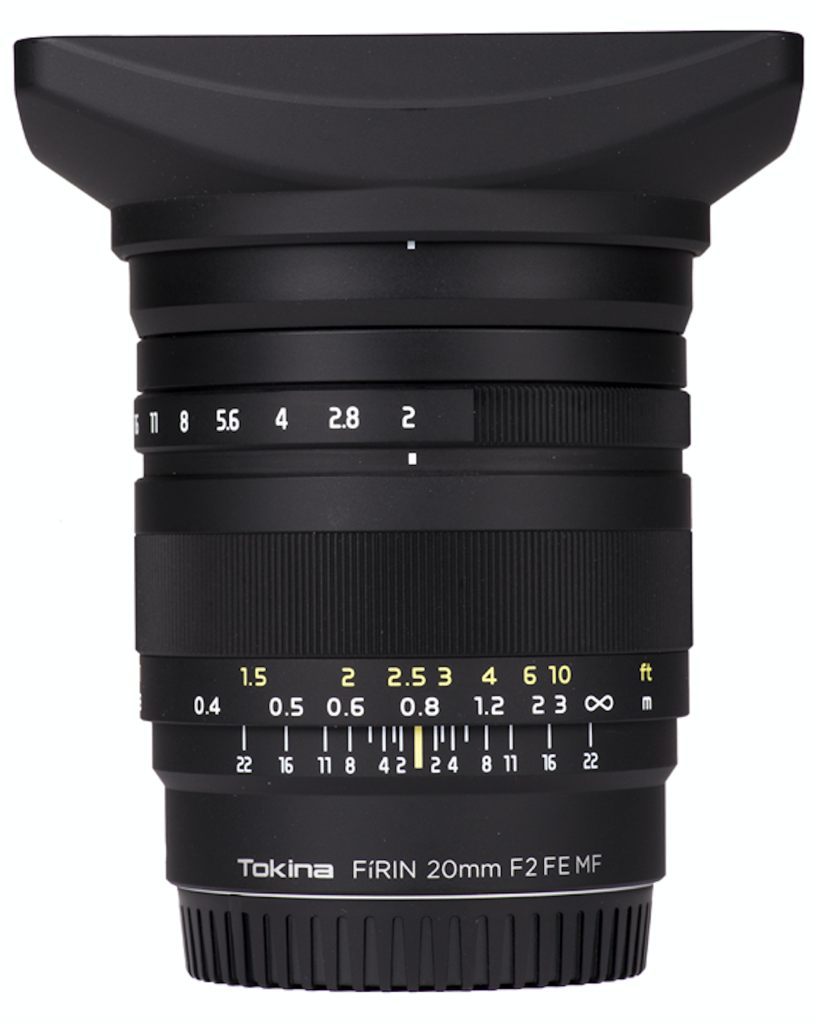 Tokina FiRIN 20mm F2 FE MF