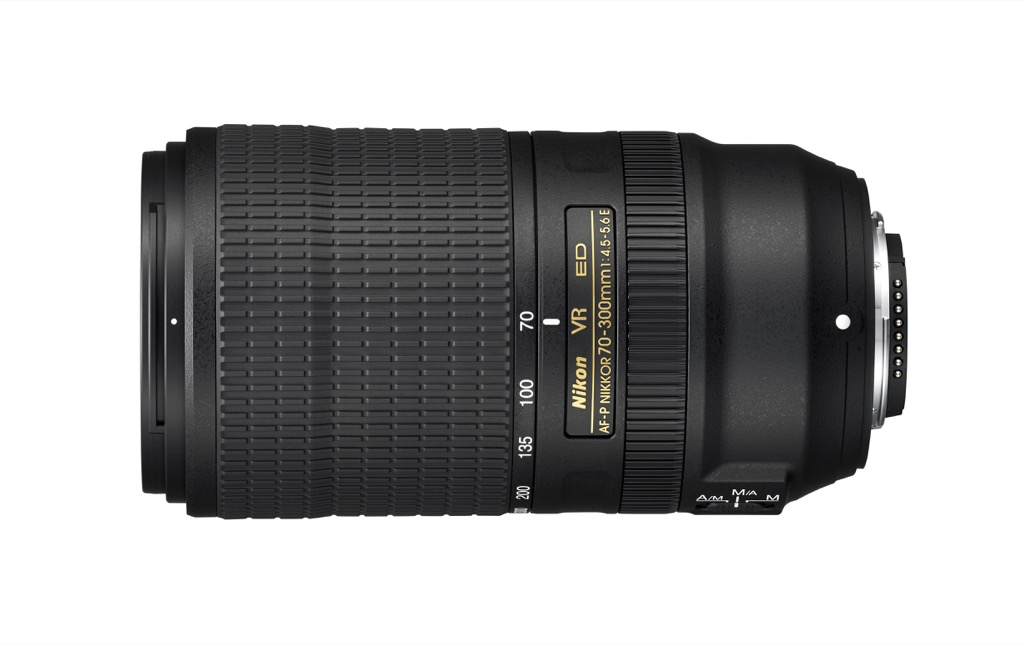 Nikon announces the AF-P NIKKOR 70-300mm F/4.5-5.6E ED VR lens