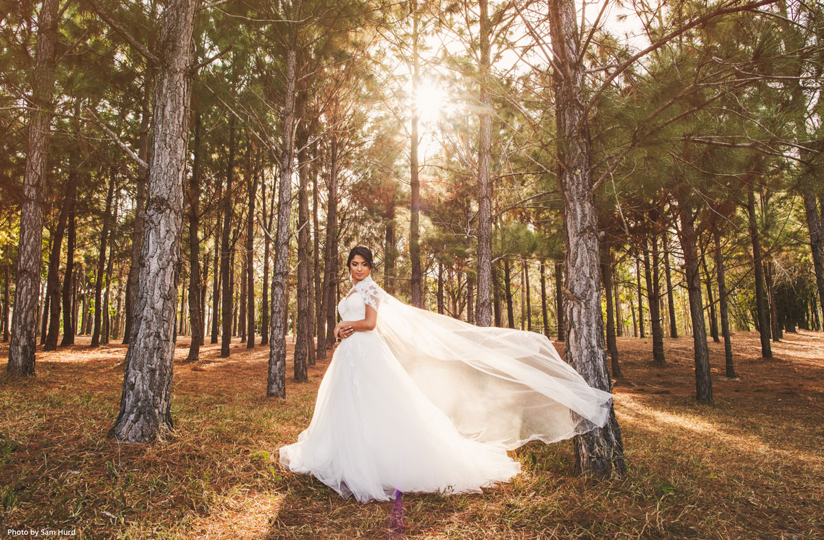 How news photographer Sam Hurd stumbled upon his true calling as a wedding photographer