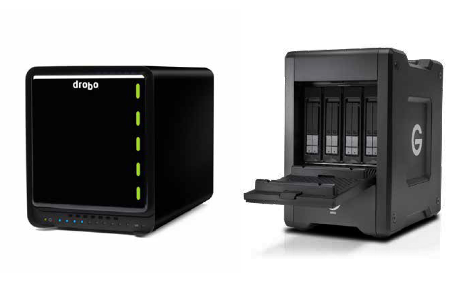 G-Technology G Speed Shuttle SSD And Drobo 5D3