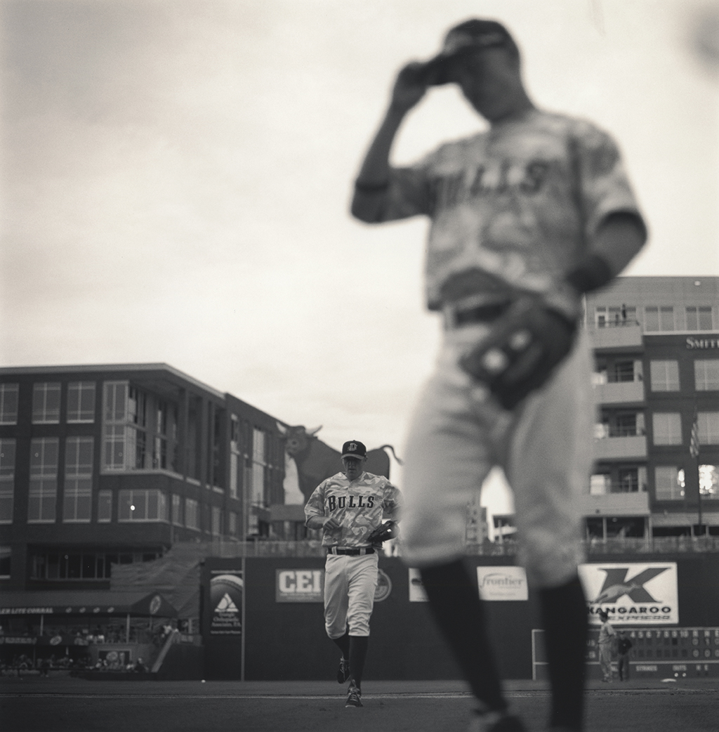 """End of Inning"" from the series Bull City Summer."