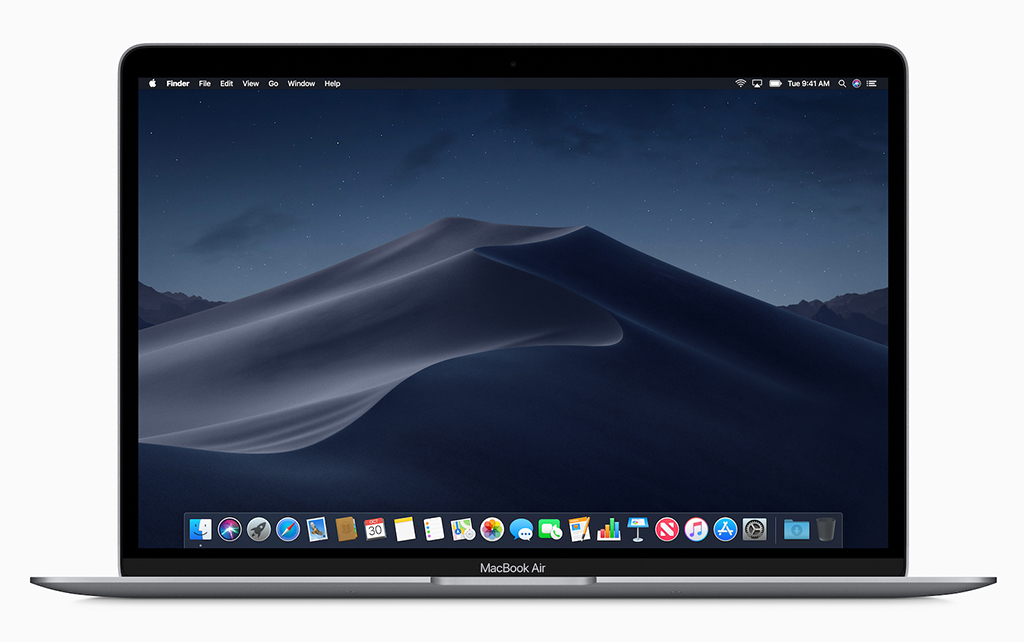 The new MacBook Air running Mojave performs better than you probably expect.