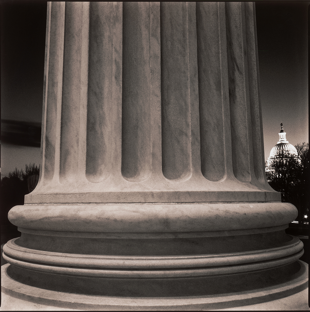 """Supreme Court, Washington DC"" from the series American Studies."