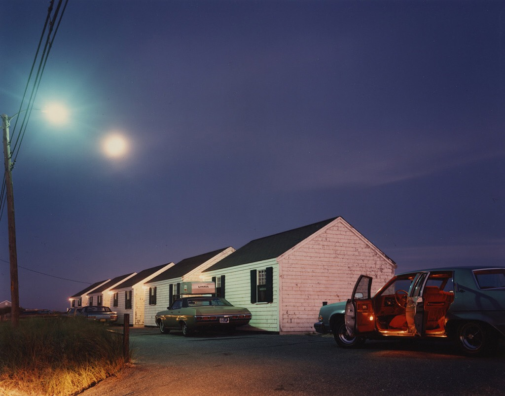 """Red interior, Provincetown, Massachusetts,"" 1977, by Joel Meyerowitz."