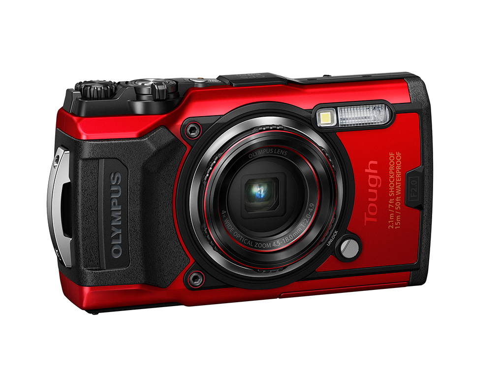 Olympus Makes A Splash With New Waterproof Camera
