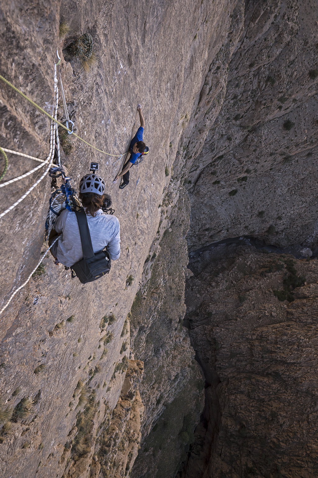 How Jimmy Chin Filmed A Mountaineer Who Aspires To Extremes