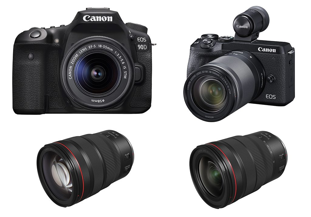 Canon Introduces EOS 90D DSLR, EOS M6 Mark II And Two RF lenses