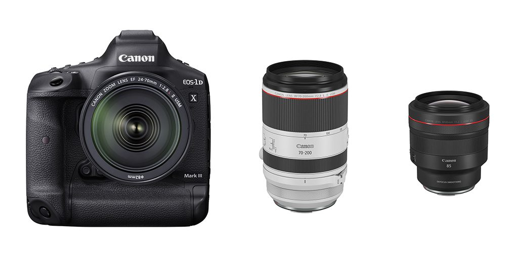 Canon Makes Development Announcement of EOS-1D X Mark III And Introduces Two Lenses