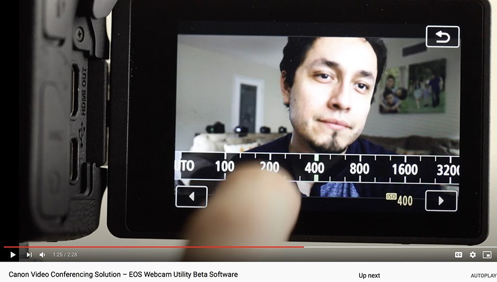 Canon Offers Free Solution To Use Canon Cameras As Webcams