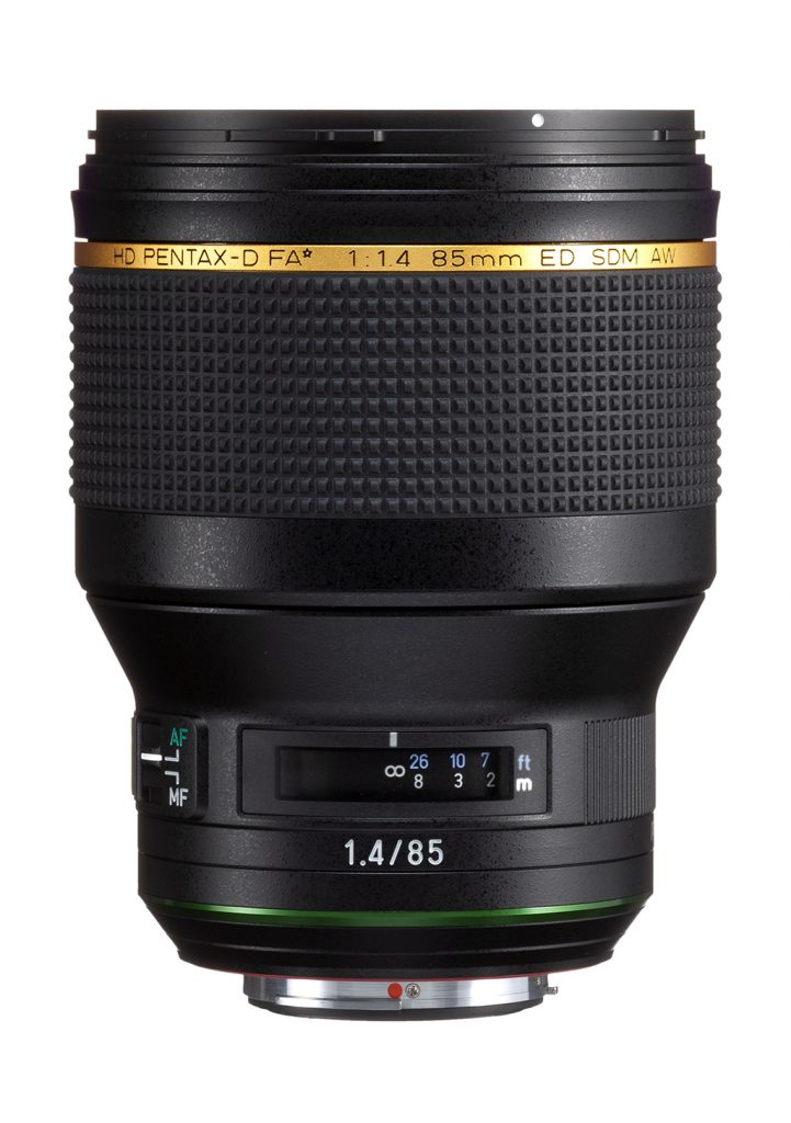 Ricoh Announces Pentax 85mm Lens For K-Mount DSLRs