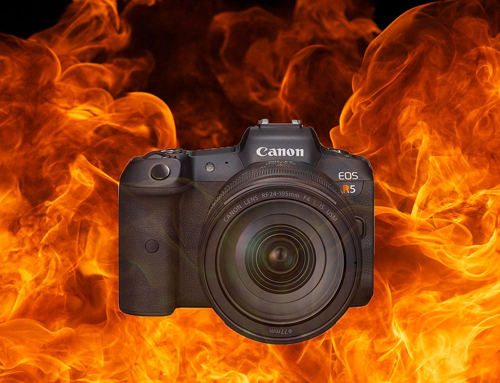 Canon Sends Alert On EOS R5 Overheating Issues