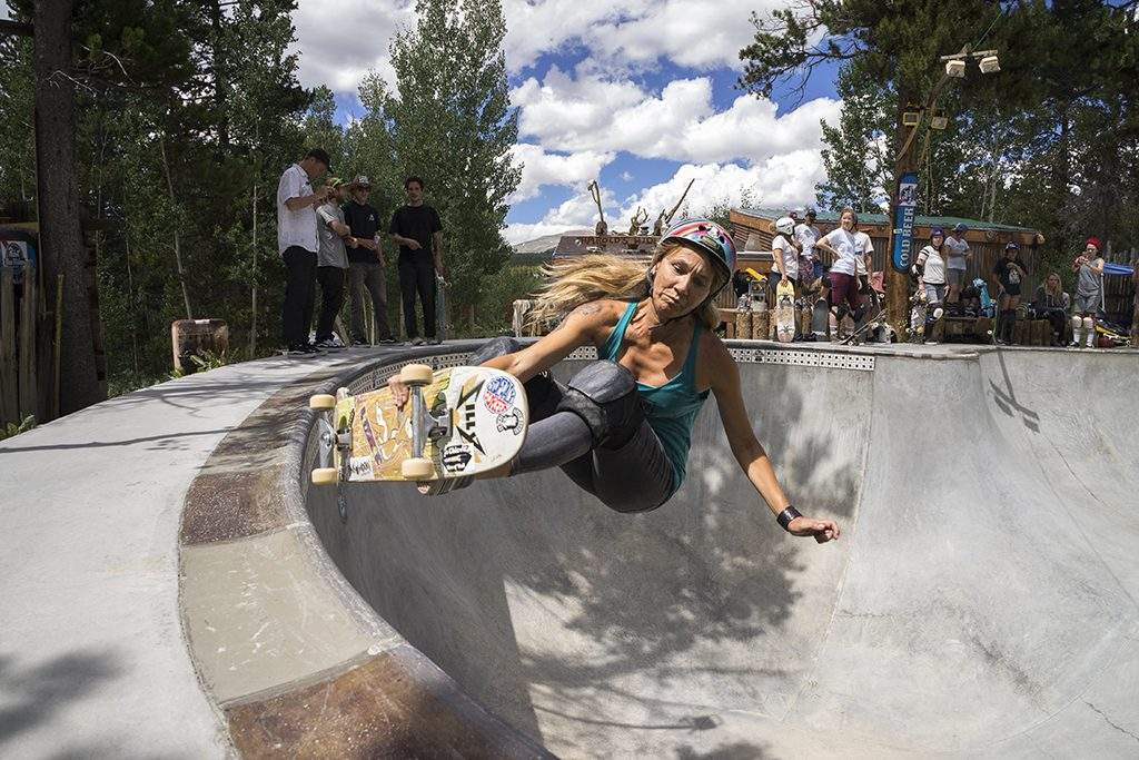Shredding It: Kathy Hayes' Skateboarding Photography