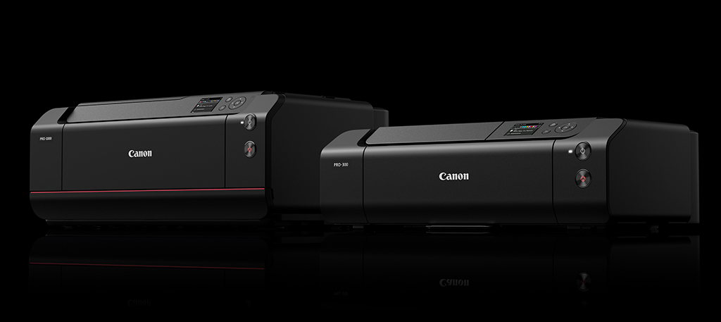 image of the Canon imagePROGRAF PRO-1000 and PRO-300