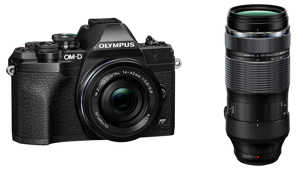 Olympus Introduces OM-D E-M10 Mark IV & 100-400mm Zoom Lens