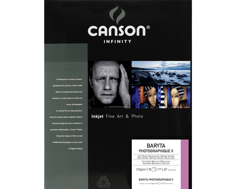 Canson Infinity Baryta Photographique II Photo Paper Review