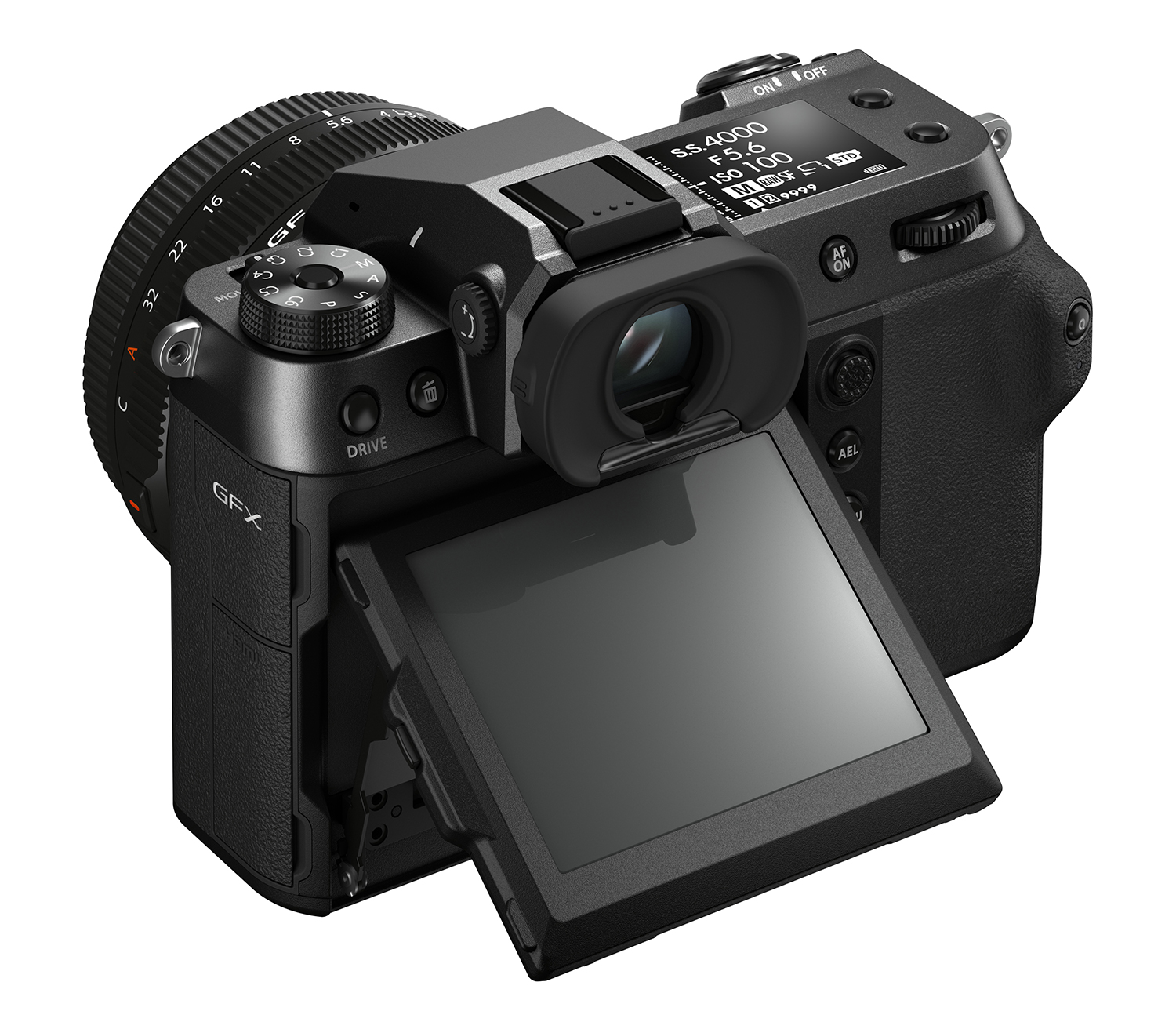 Photo of Fujifilm GFX100S rear