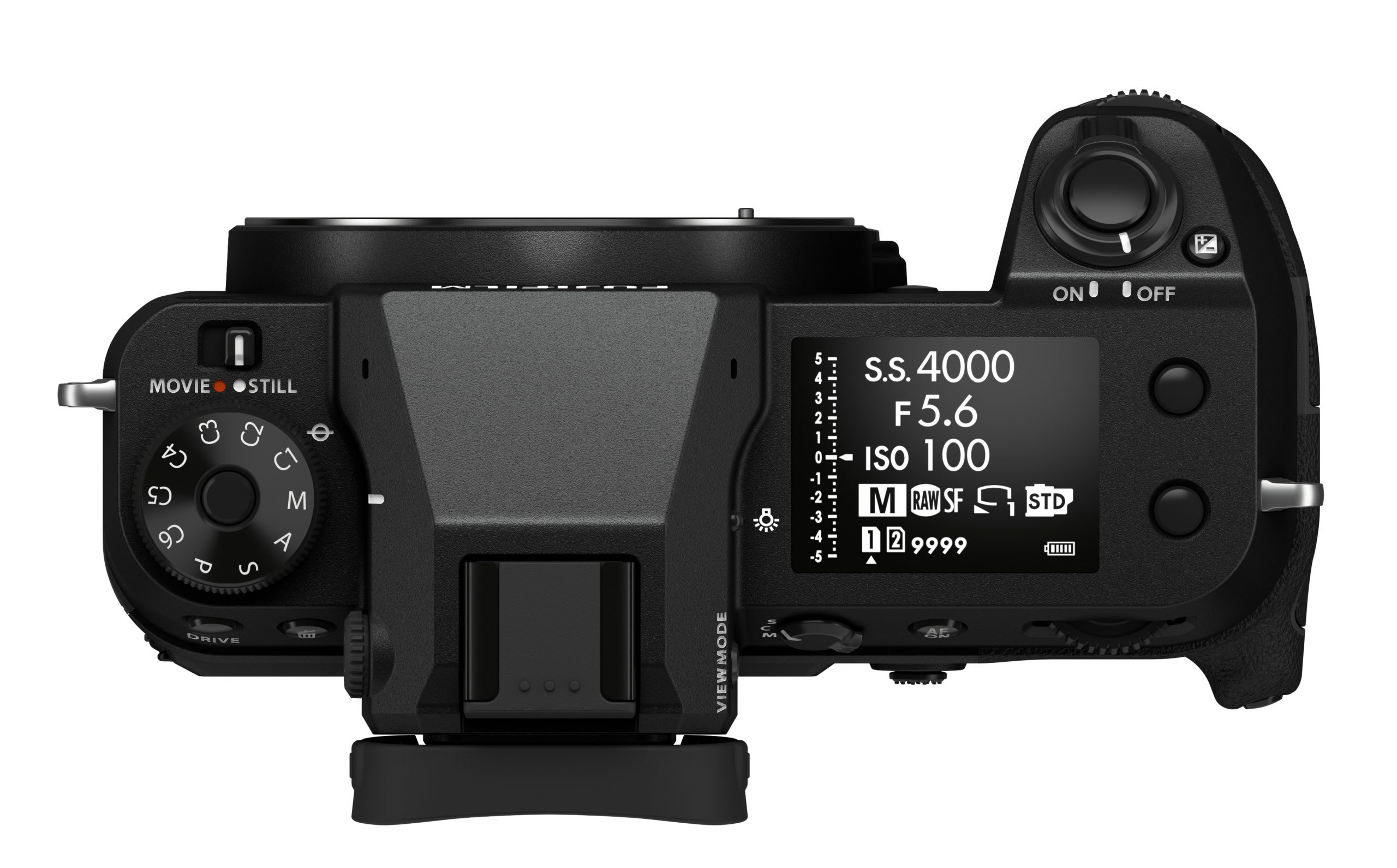 Photo of Fujifilm GFX100S top