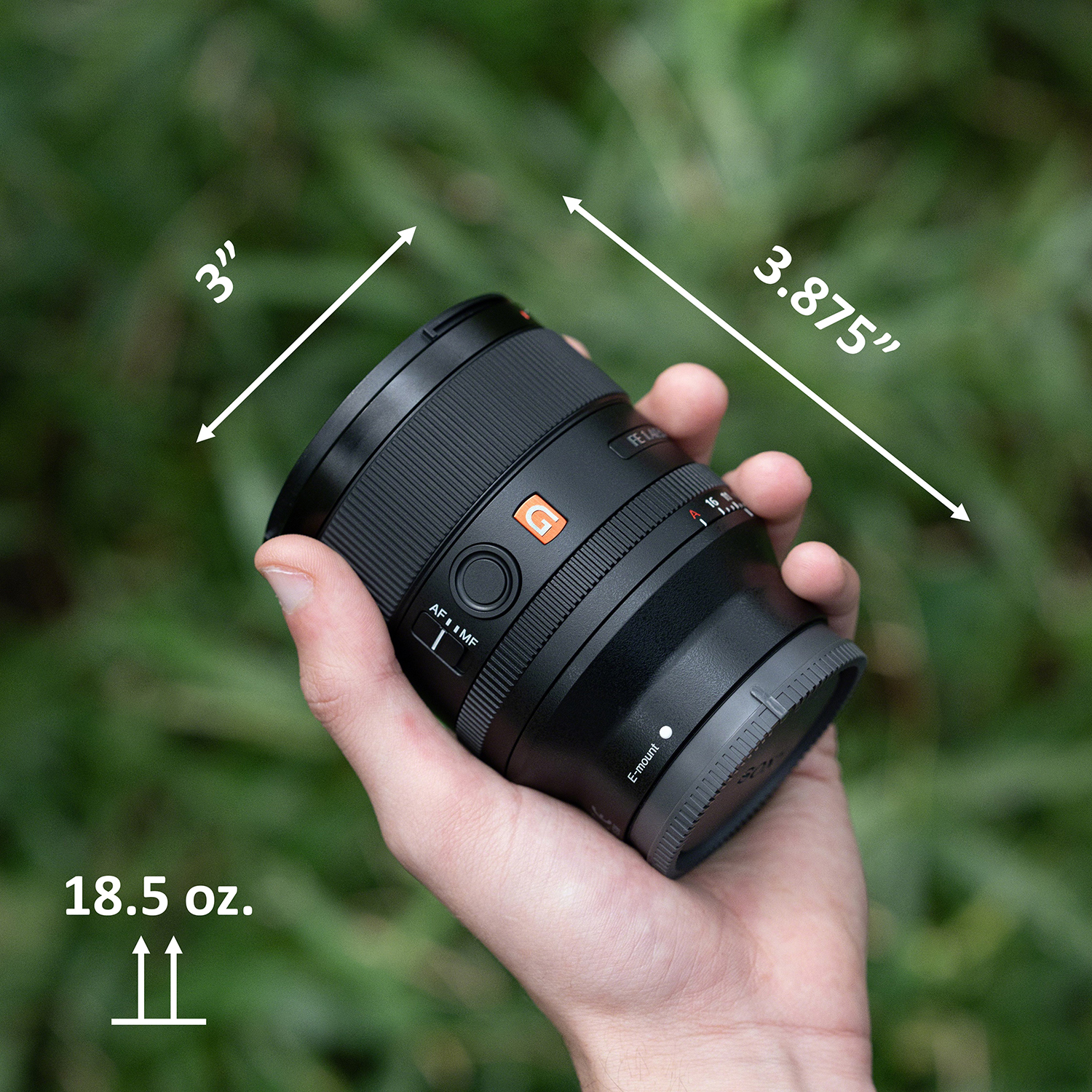 Image of Sony 35mm F1.4 GM lens