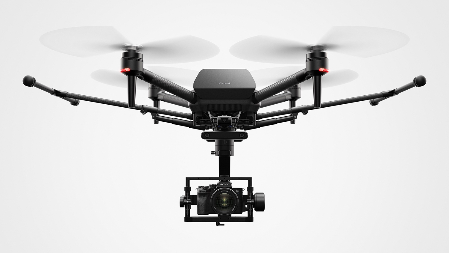 Product shot of Sony Airpeak drone