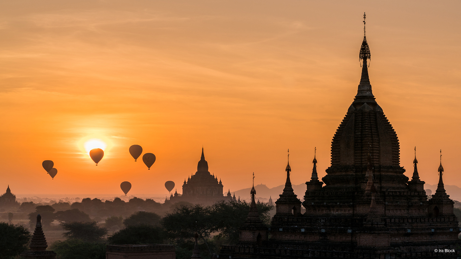 Photo of Myanmar by Ira Block