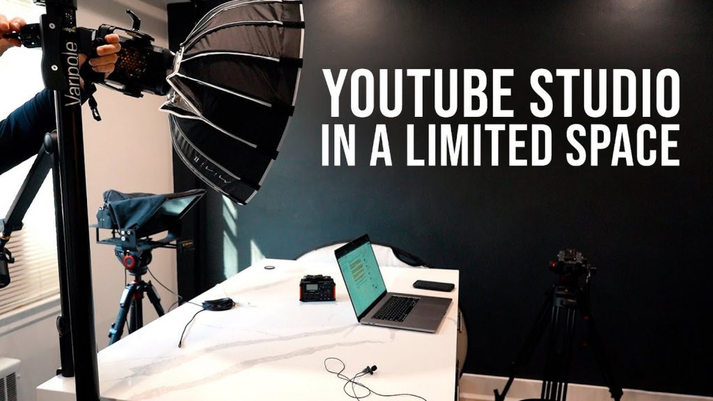 How to Create a Professional-Level YouTube Studio in a Small Space