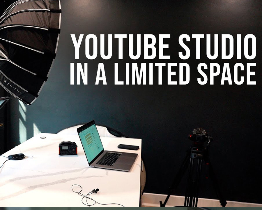 How to Create a YouTube Studio in a Small Space
