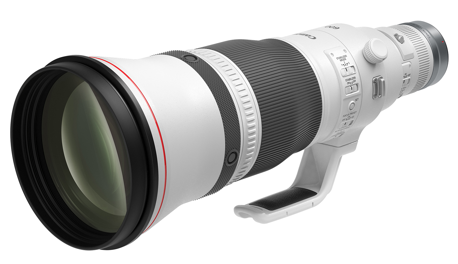Photo of the Canon RF600mm