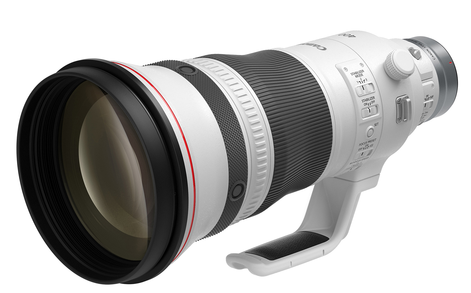 Photo of Canon RF400 lens