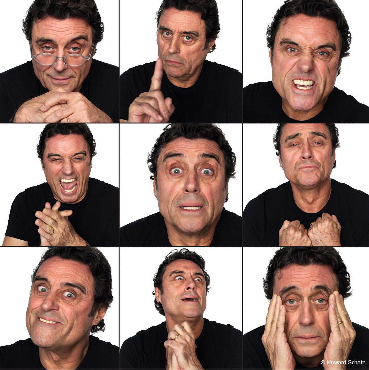 Photos of Ian McShane by Howard Schatz