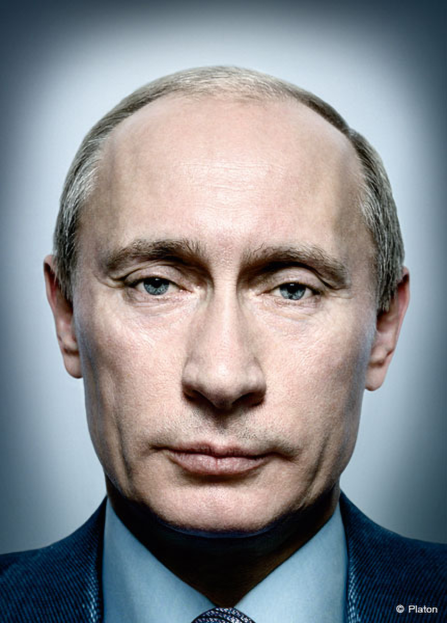 Photo of Putin by Platon