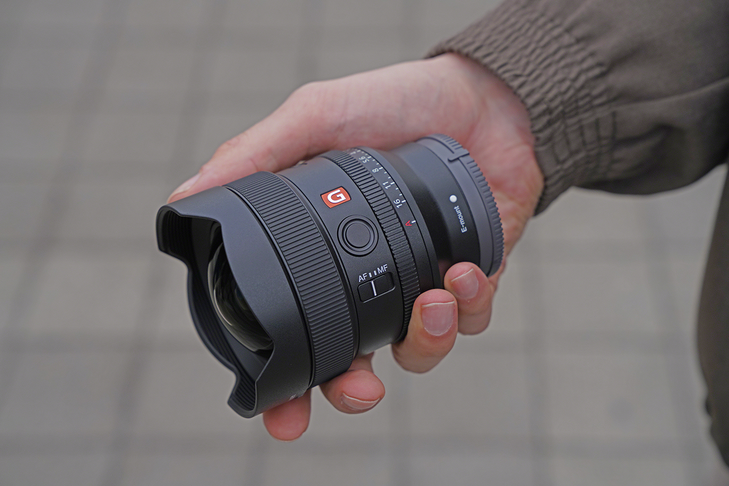 Photo of Sony 14mm lens