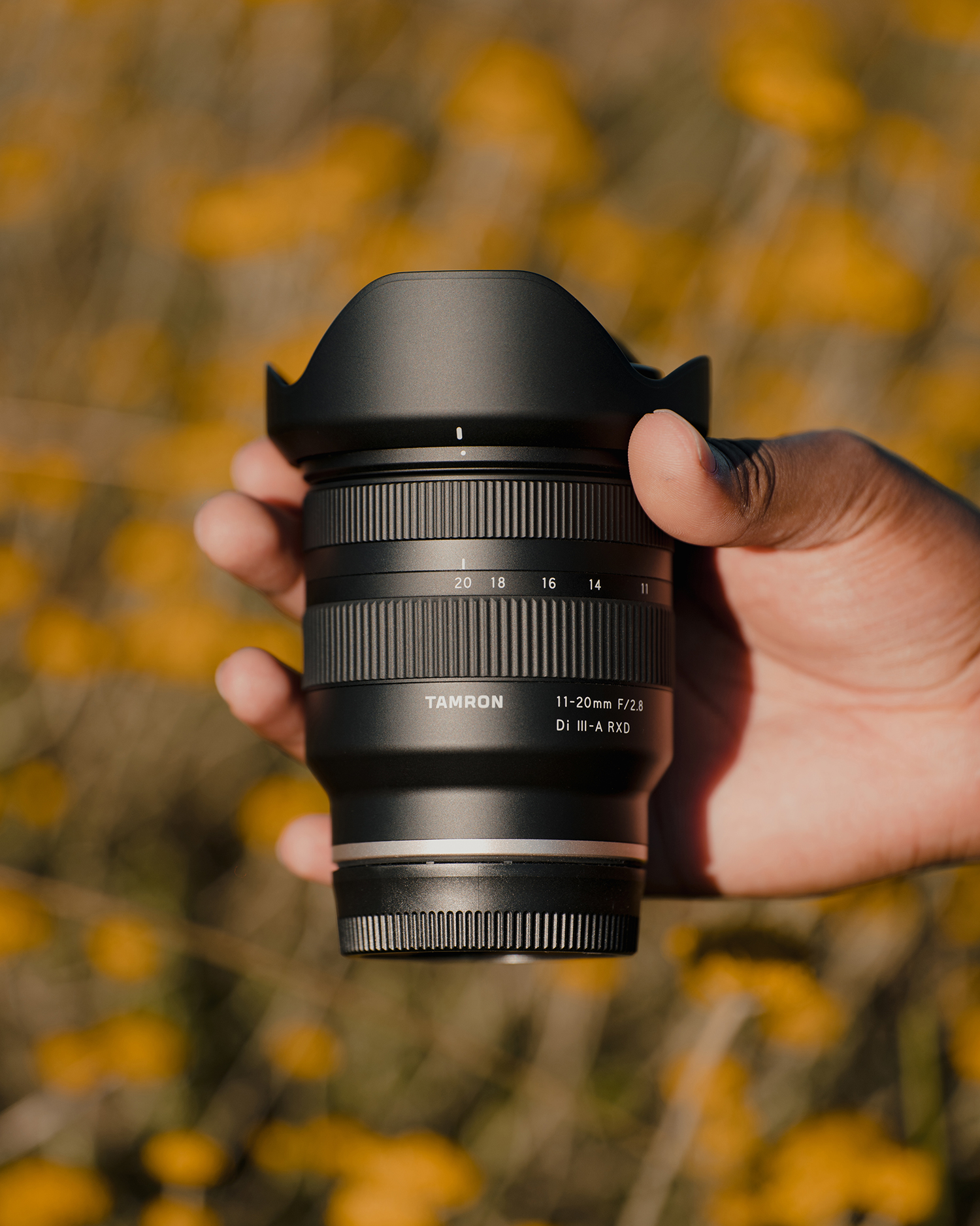 Photo of Tamron 11-20mm lens
