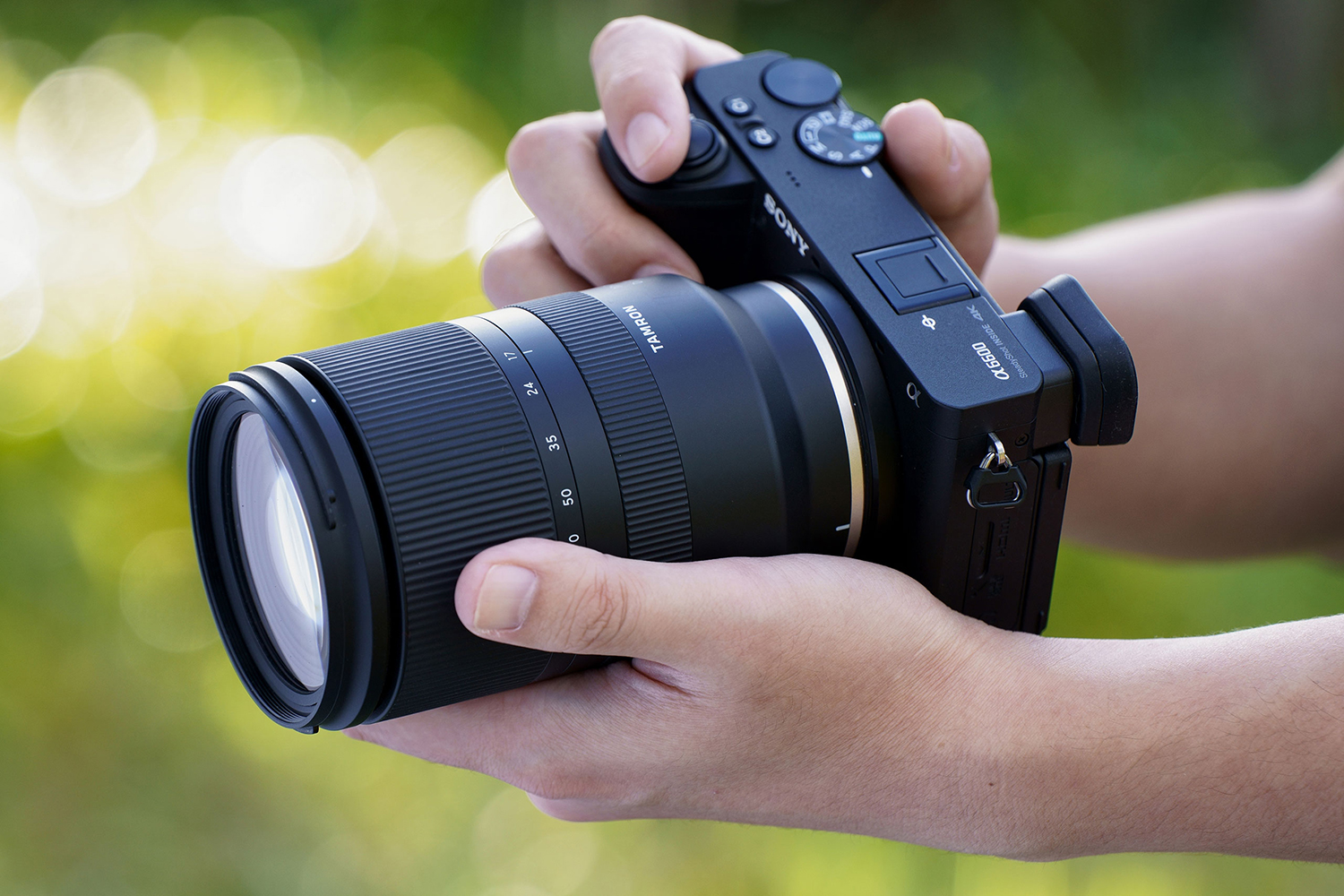 Photo of Tamron 17-70mm f/2.8 lens