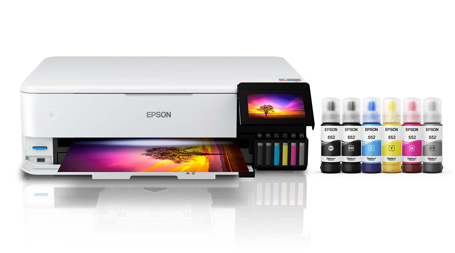 Photo of Epson 8550 printer