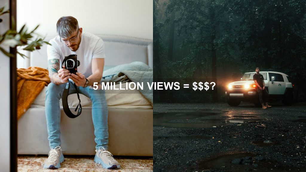 How Much Can a Photographer Make on YouTube?