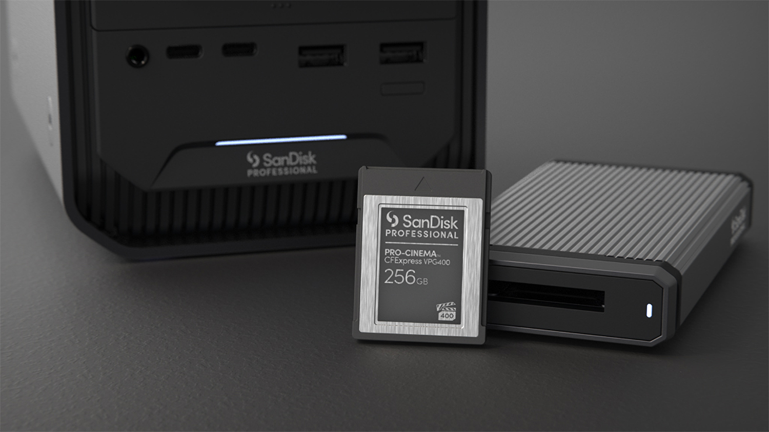 Photo of SanDisk professional family of products