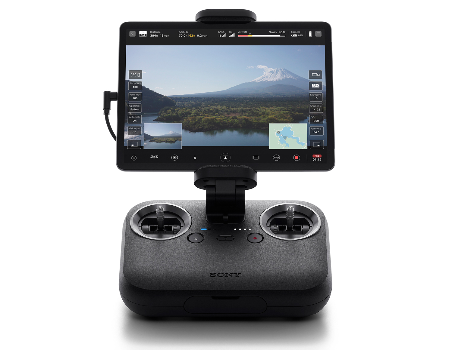 Photo of Sony Airpeak drone controller