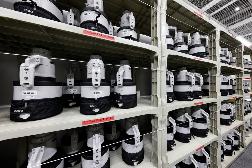 More Photos of the Mass of Canon Gear at the Tokyo Olympics