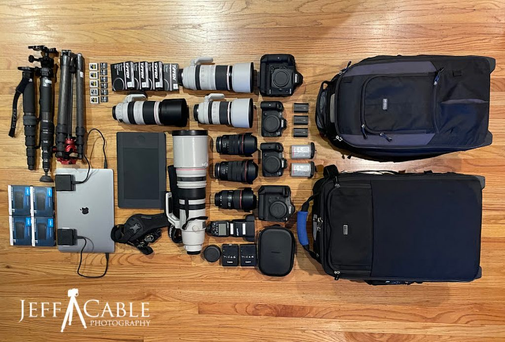 What Gear Does a Sports Photographer Bring to the Olympics?
