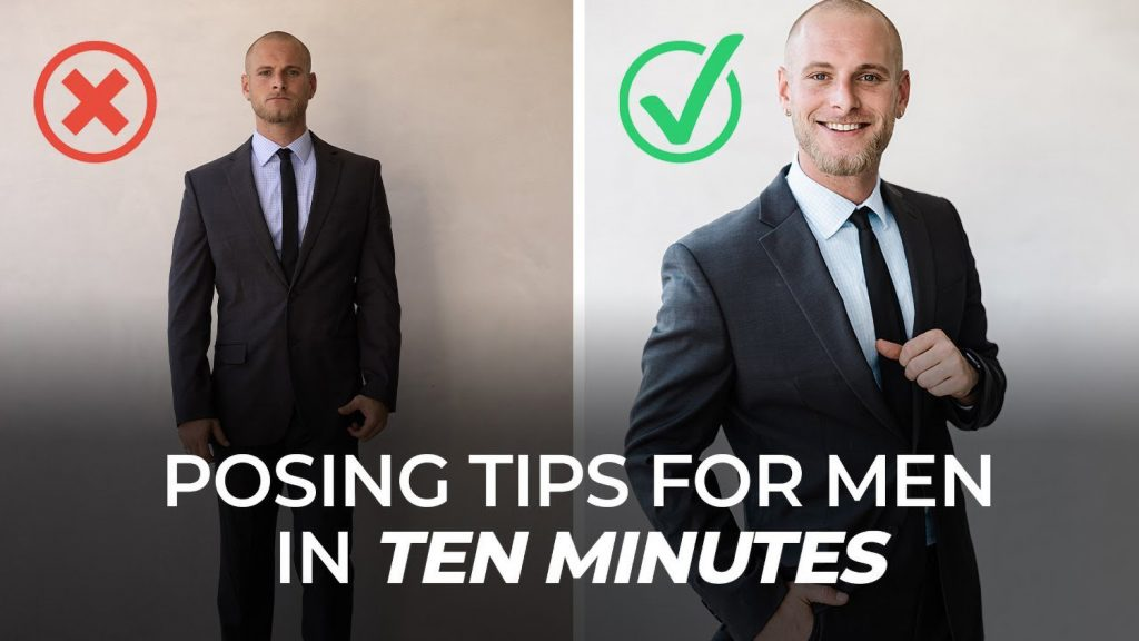 How to Pose Men: 10 Minutes of Tips & Techniques