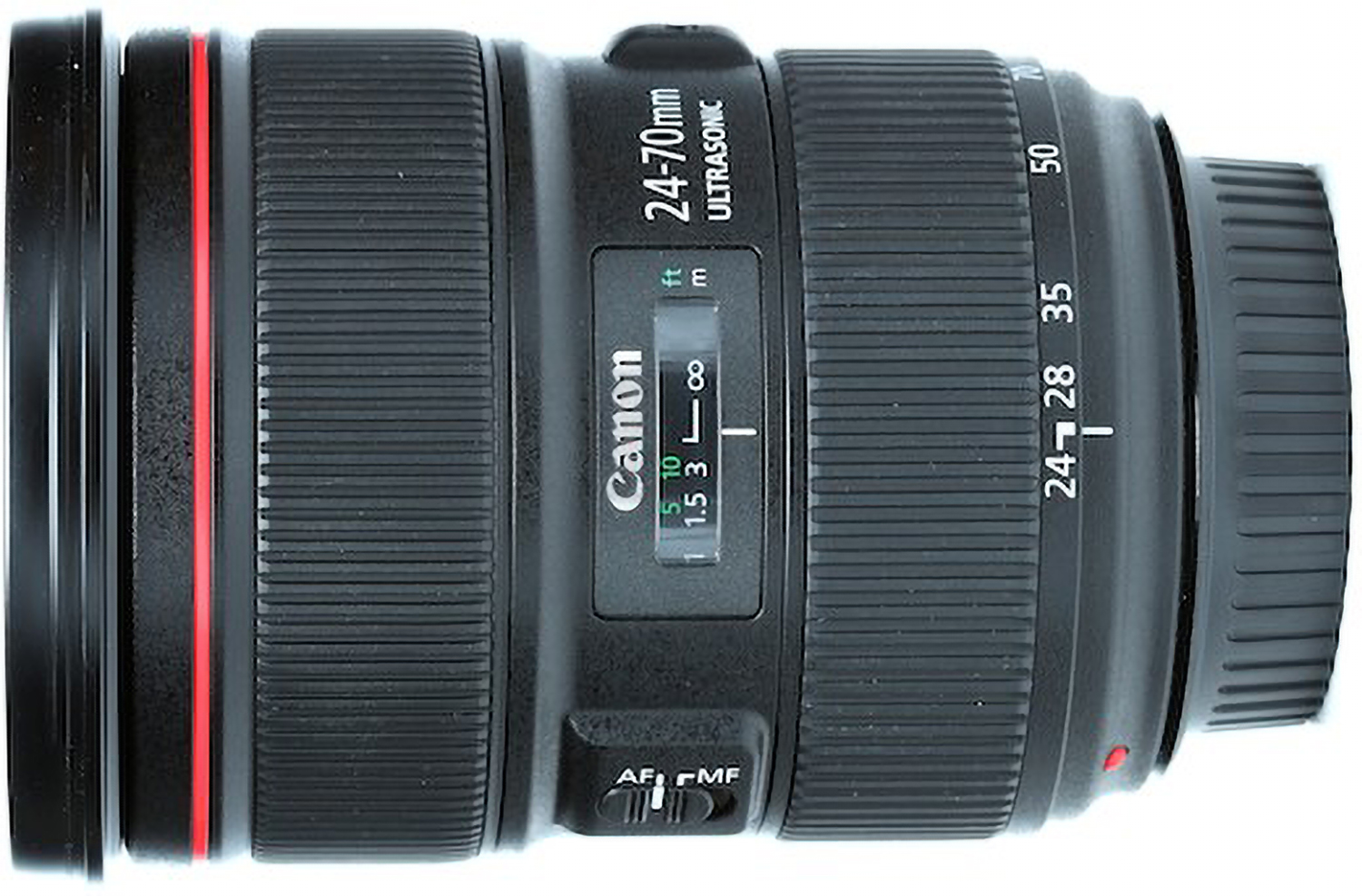 Photo of Canon EF 24-70mm lens