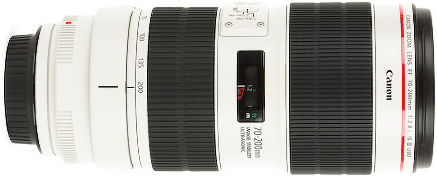 Photo of Canon EF 70-200 lens