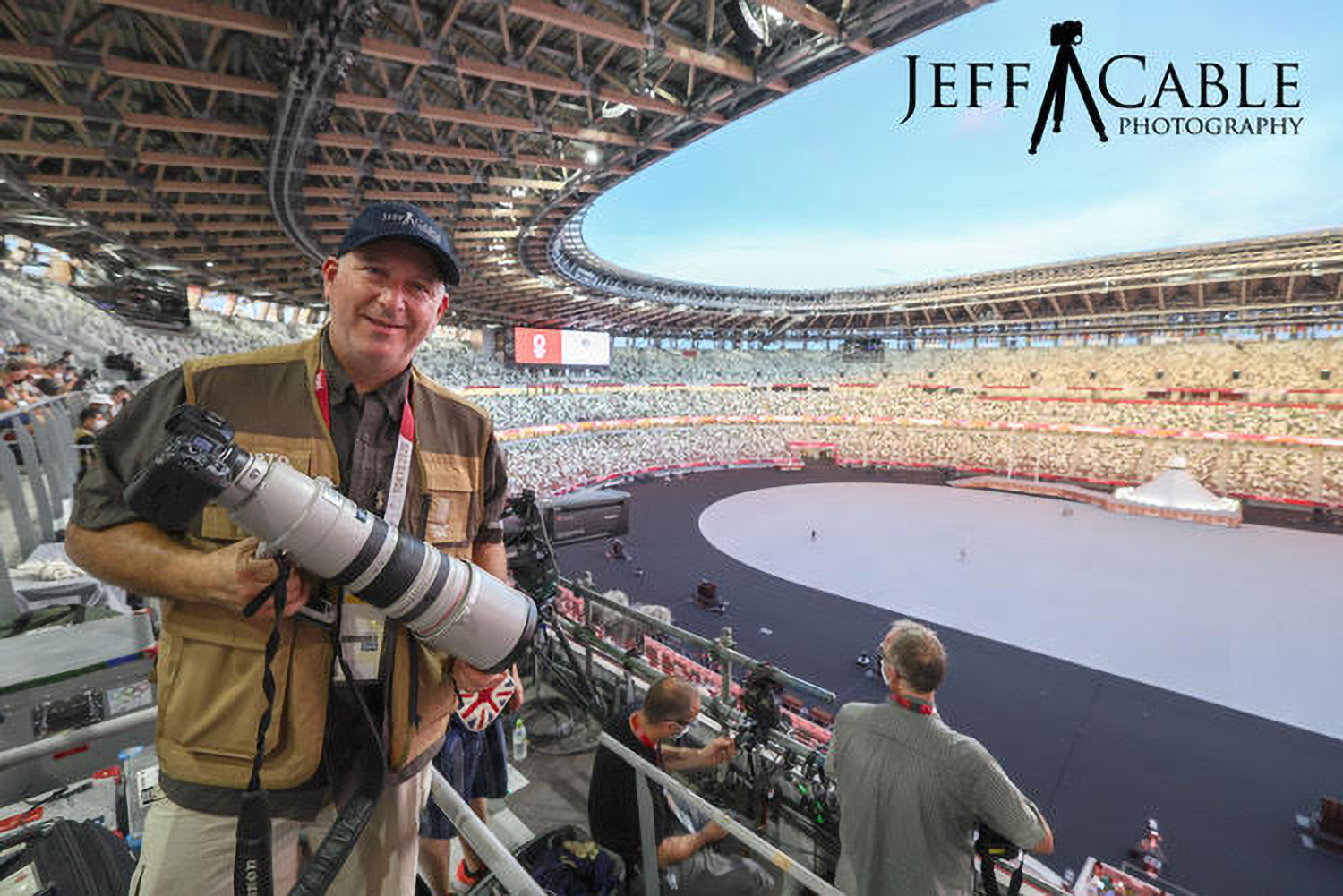 Photo of Jeff Cable with R3