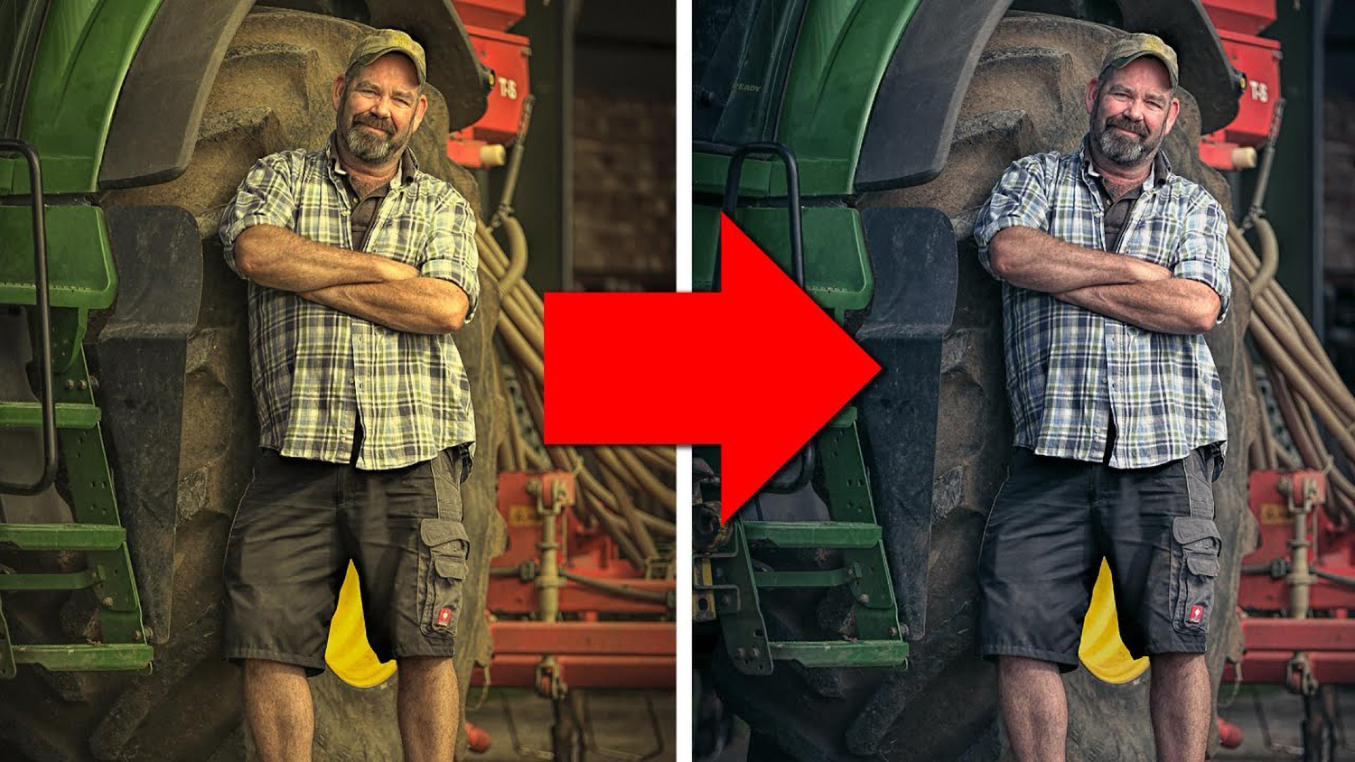 Photo for color correction trick in Photoshop