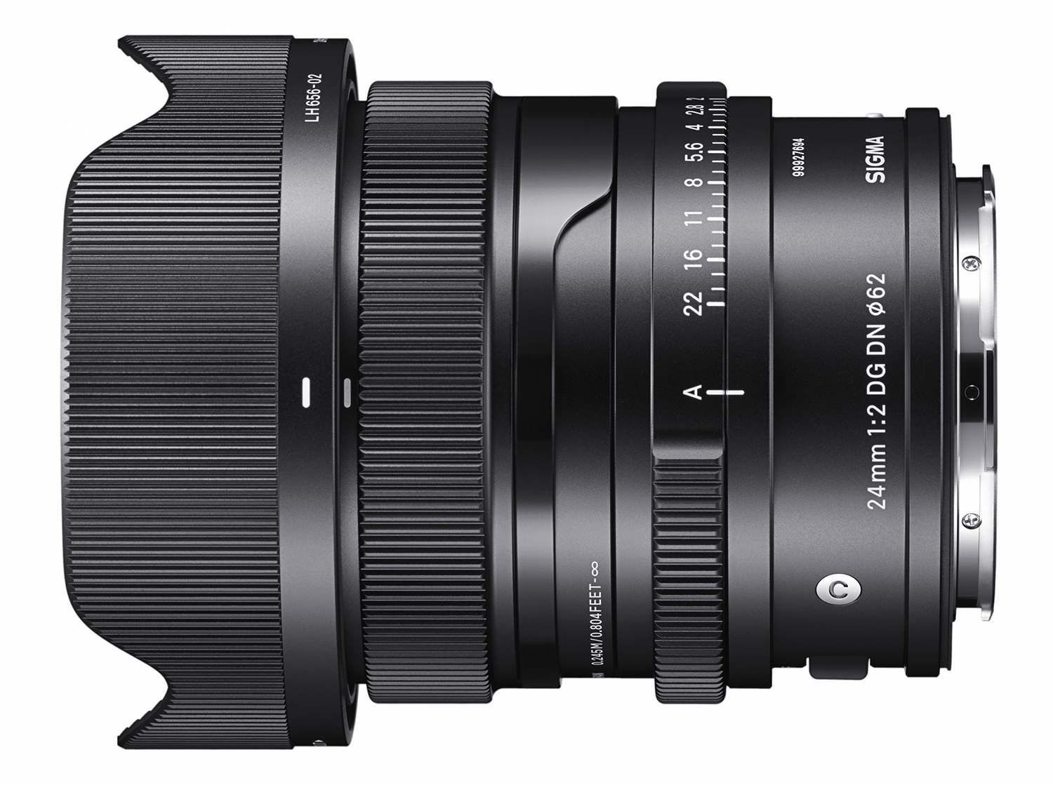 Photo of Sigma 24mm lens