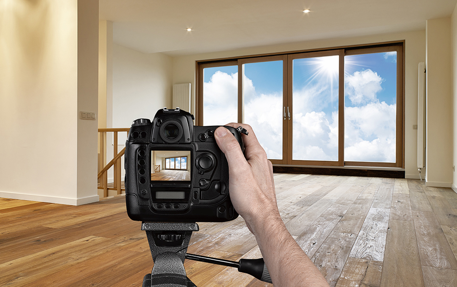 Photo of real estate photography