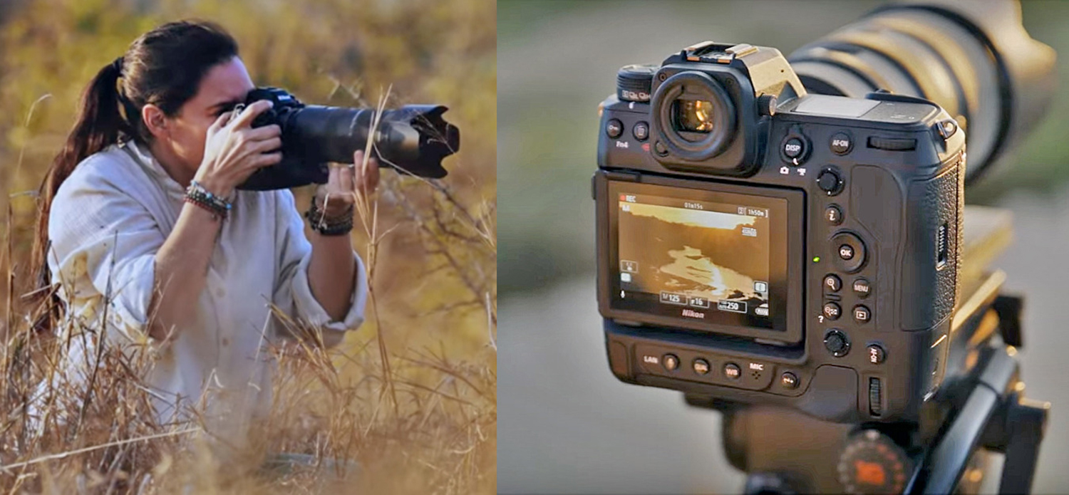 Photo of Nikon Z9 front and back