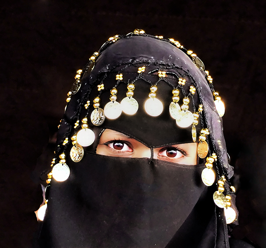 Young Bedouin Woman